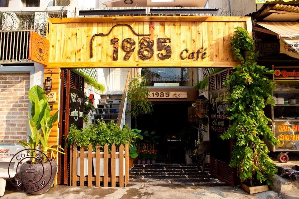 Mẫu biển quảng cáo quán cà phê đẹp