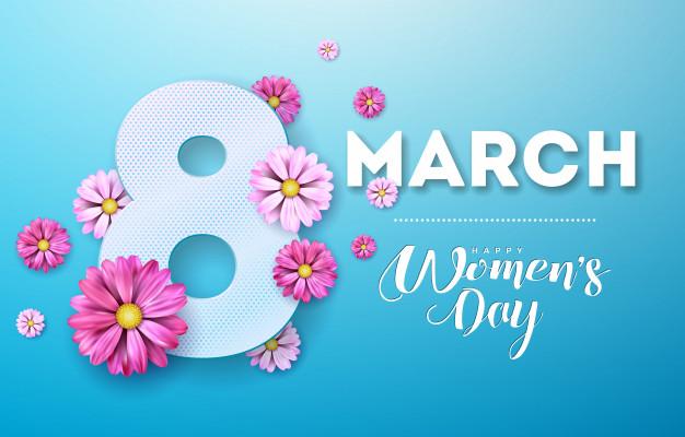 In phông bạt ngày quốc tế phụ nữ 8-3