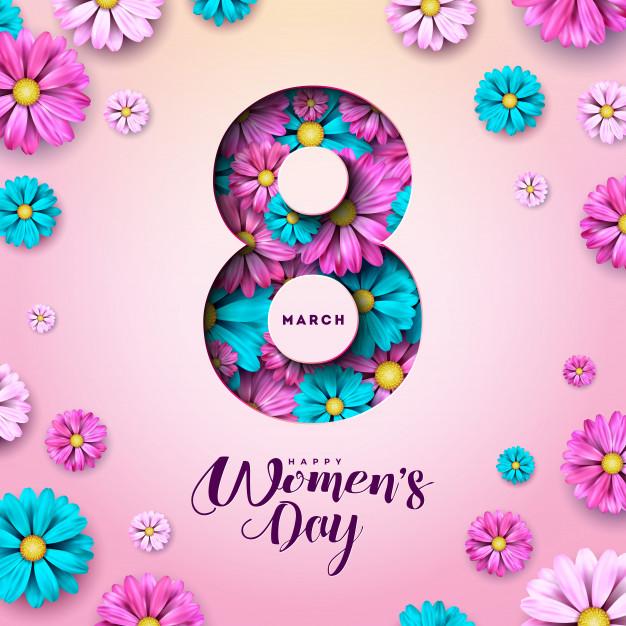 mẫu phông ngày quốc tế phụ nữ